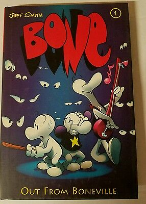 BONE COLOR EDITION HC HARDCOVER VOL 1 OUT FROM BONEVILLE #snov15-489