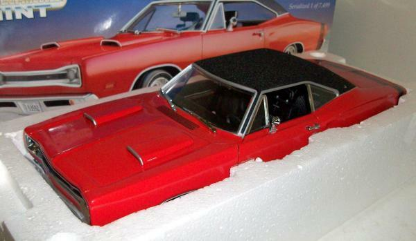 1969 Dodge Cornet Performance Rouge Comme neuf Series 1 18 ertl american muscle 32075
