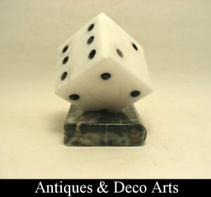 Marble-Dice-on-Book-Paperweight