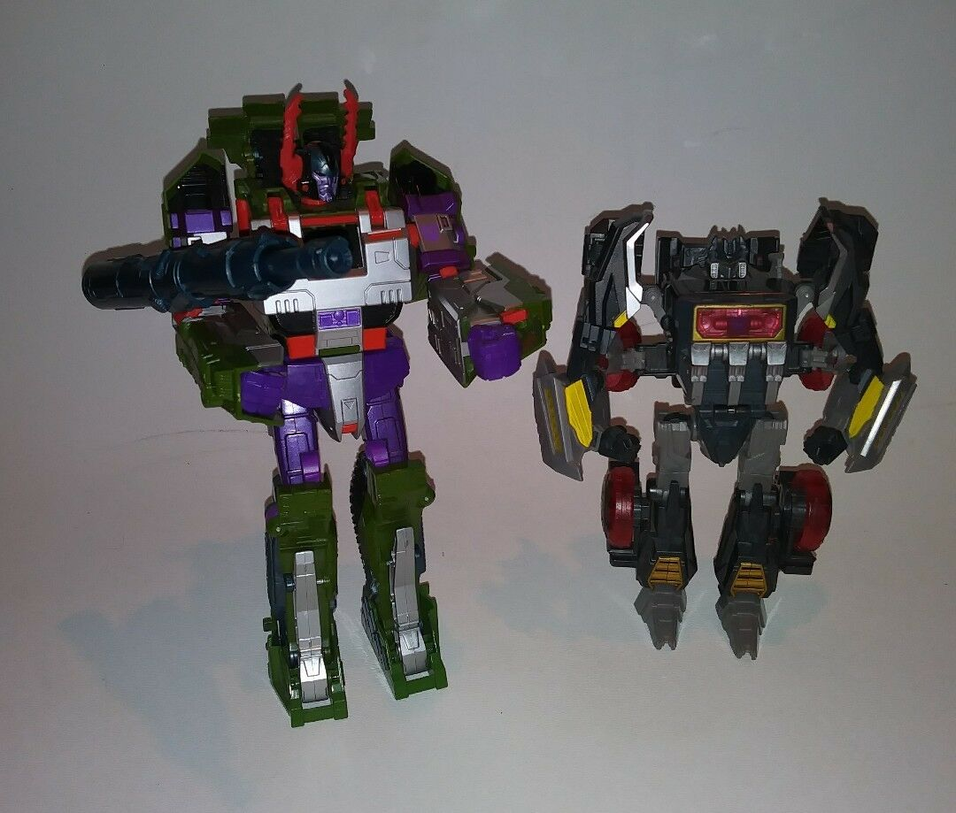 Transformers Decepticon action figures. JULY