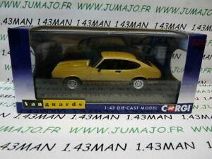 voiture-1-43-CORGI-VANGUARDS-FORD-CAPRI-MK3-3-0-ghia-or-LHD