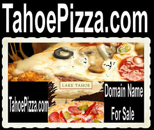 Tahoe Pizza Com Free Delivery Wings Domain Name For Sale Thin Crust