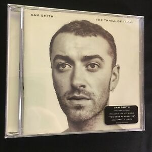 Sam-Smith-The-Thrill-Of-It-All-CD-NEW-and-SEALED