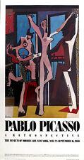 Pablo PICASSO The Dance Retrospective MOMA New York 1980 Poster