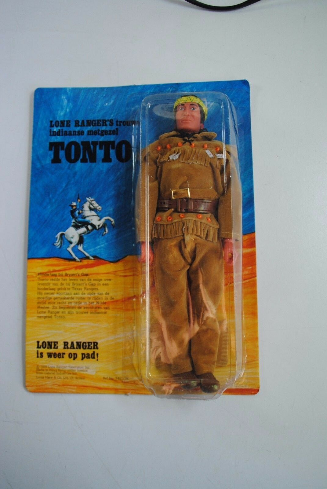 THE LONE RANGER RIDES AGAIN      TONTO     CARDED
