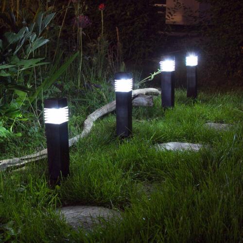 Solarleuchte Solarlampe LED Wegleuchte Außenlampe Gartenleuchte Solarstrahler