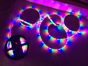 300-LED-Strip-Light-Waterproof-Flexible-String-Lights-24-volt-5M-Purple-Color