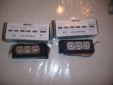 Code 3 Xt3 Led Flat Light Head New Free Shipping Set Of 2