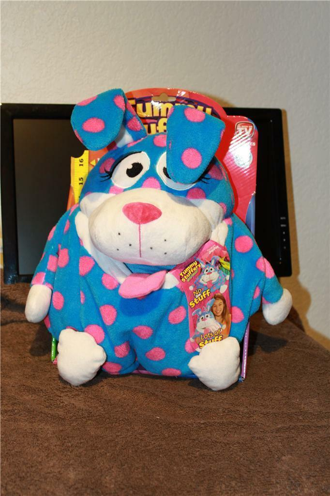 Tummy Stuffer - blueE RABIT  PERSONALIZED As Seen On TV   New MUST SEE