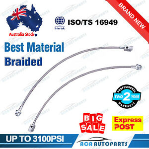 For-Nissan-Extended-Braided-Brake-Hose-Lines-Patrol-GQ-Y60-GU-Y61-2-8-034-1988-2012