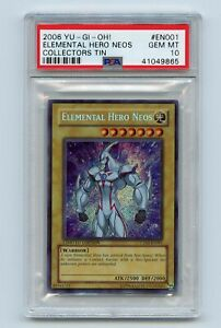 Yu-Gi-Oh-Collector-Tin-Elemental-Hero-Neos-Secret-Rare-CT03-EN001-PSA-10