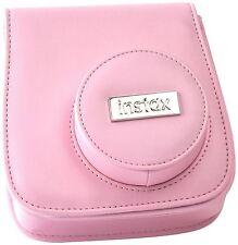 Genune Fujifilm Fitted Carry Case for Fuji Instax Mini 8 Camera (Pink)