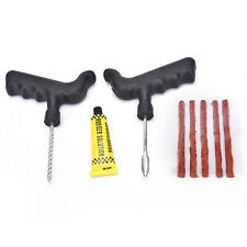 Car Bike Auto Tire Puncture Plug Repair Tool Kit For Tubeless Tyre Safety StripP