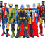 Marvel Avengers Toys Spiderman Hulk Iron Captain America Thor Action Figure 30CM