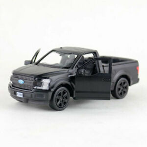 1:36 Ford F-150 Pickup Truck Model Car Alloy Diecast Toy Pull Back Black Boys
