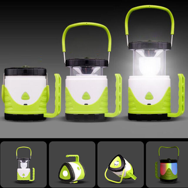 Camping Lantern LED USB Rechargeable 18650 Camp Lamp Light Emergency Tent  Torch