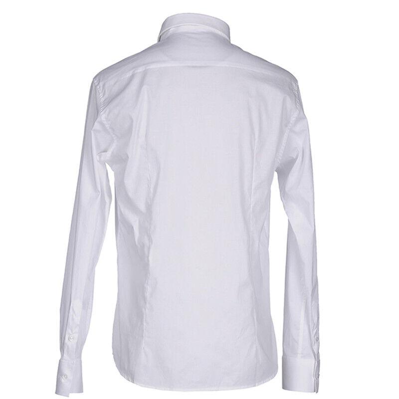 Camicia uomo Paolo Di Matteo 2723 manica lunga bianco bianco bianco grigio XS S M XL XXL 3XL 81a013