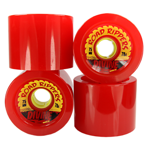 Divine Wheels Road Rippers - 75mm   78a - Various Colours