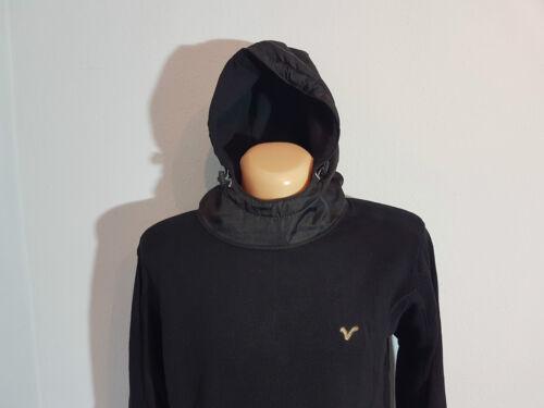 Voi Jeans pull sweater caravane taille L; xl Noir Camouflage Capuche NEUF