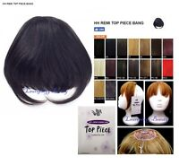 It's A Wig Brand 100% Remi Human Hair Clip On Top Piece Human Hair Bang Fringe