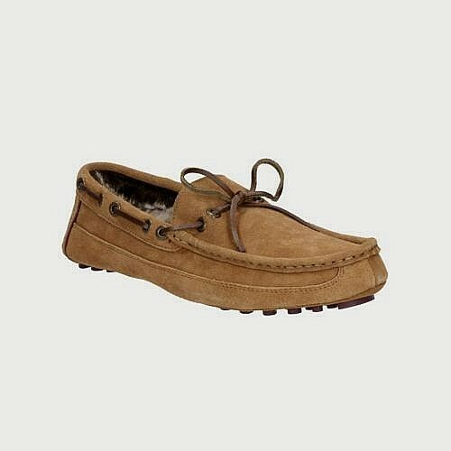 gamuza para de zapatos Tamaño Clarks Zapatos Tan cuero Salón casa Nuevos Kite Zapatillas 11 hombres de de gwI7pqpx