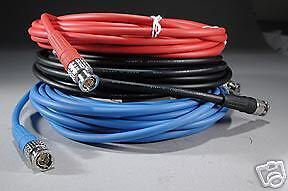 50 ft Canare lv-61s DE 75 OHMIOS OHMIOS OHMIOS PRECISIóN Reloj BNC Cable de interconexión  100% a estrenar con calidad original.