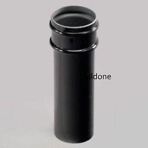 Marley-Round-Rainwater-68mm-Down-Pipe-2-75m-Length-RPH253-Black-White-Brown