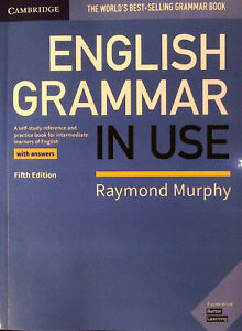 Details about Cambridge ENGLISH GRAMMAR IN USE with Answers FIFTH Edition |  R Murphy @NEW@