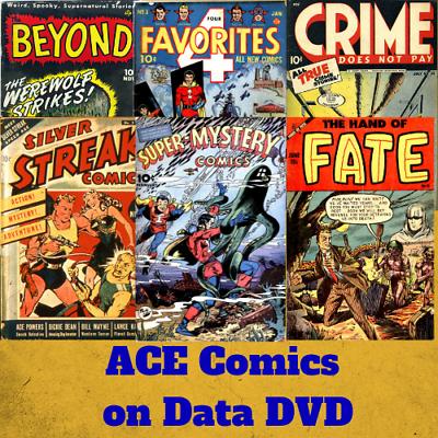 TALES OF HORROR COMICS GOLDEN AGE PDF FORMAT ON CD