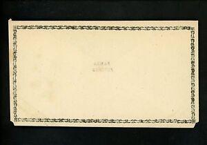 Postal Stationery H&G #B1 India / NFS / Bambra postal envelope 1889 Vintage