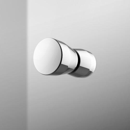 Duschkabine 80x80 90x90 70x90 Schwingtür Dusche Eckeinstieg Nano Glas Duschtür