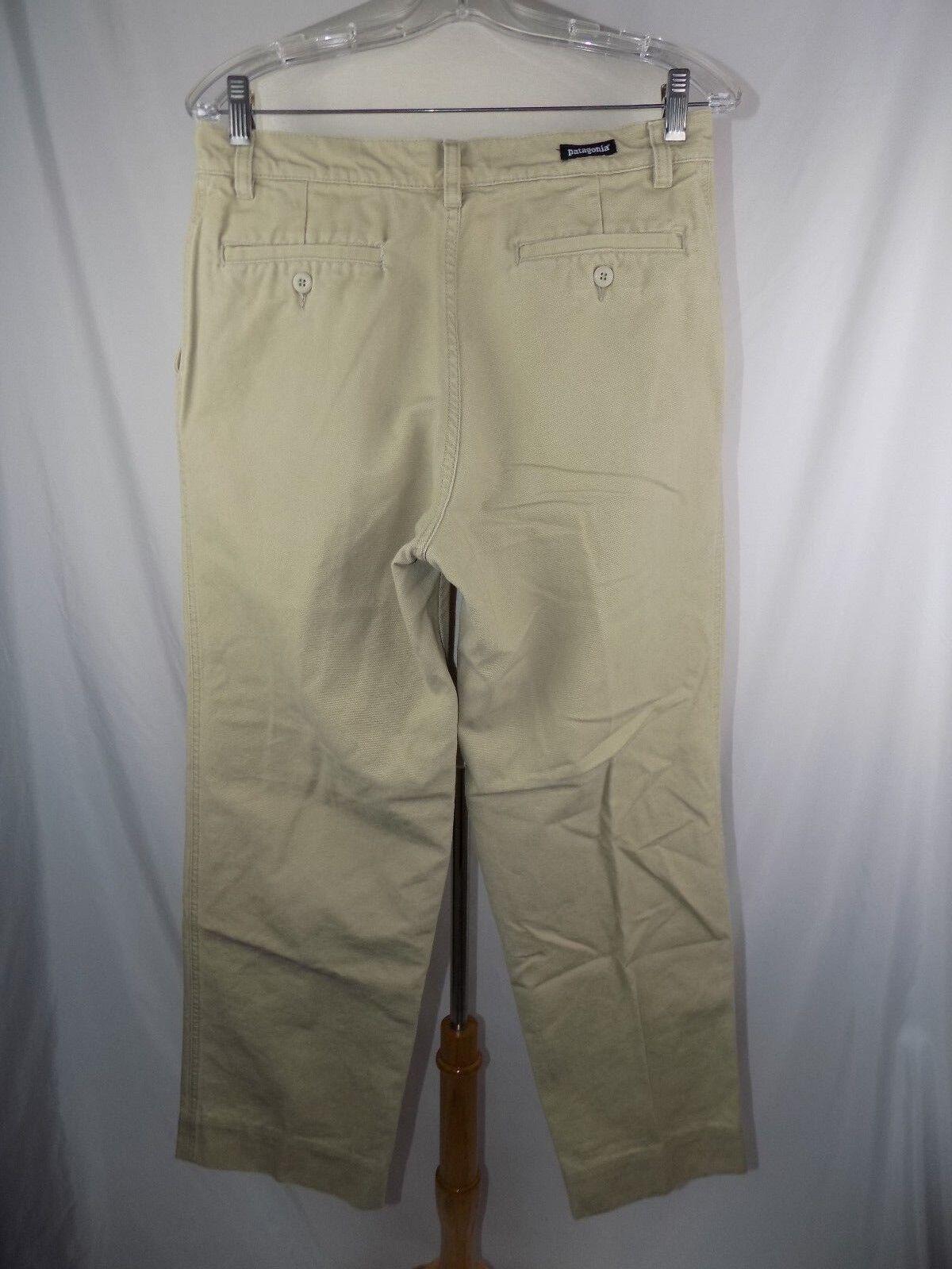 Patagonia Organic Cotton Men's 30 x 31 Khaki Pants Trousers