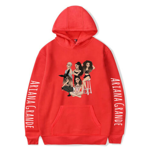 New Ariana Grande Mens Womens Hoodie Sweatshirt Hooded Pullover Coat Tops