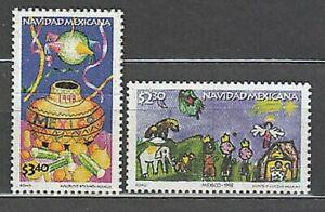 Mexico - Mail 1998 Yvert 1847/8 MNH Navidad