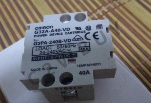 ONE OMRON relay is G32A-A40-VD DC5-24