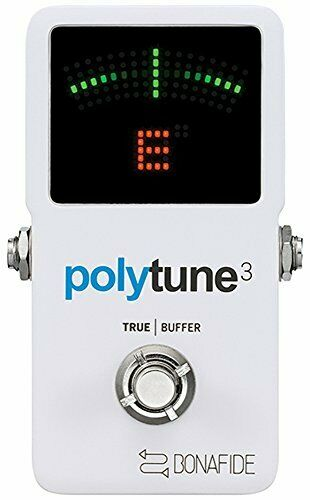 Tc electronic PolyTune 3 Guitar Holistic Tuner Built-in Buffer Japa Japan F S