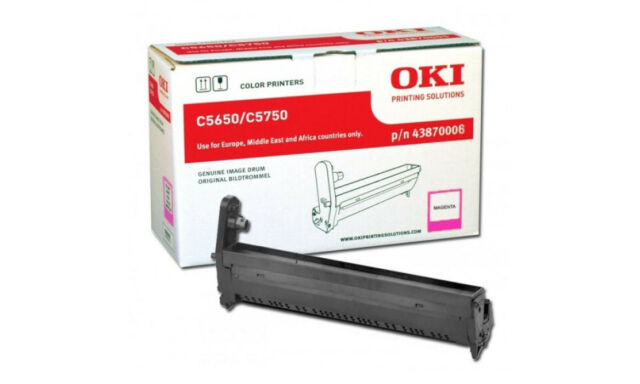 Tambour Magenta OKI 43870006 pour imprimante C5650 et C5750