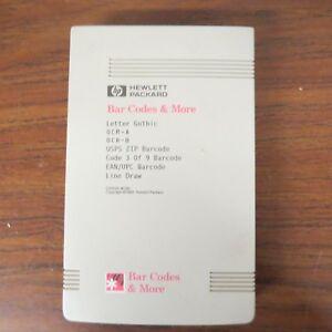 HP-Hewlett-Packard-Bar-Codes-amp-More-C2053A-C06-Cartridge