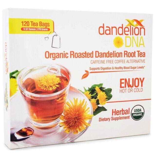 Organic Roasted Dandelion Root Tea 120 Bags