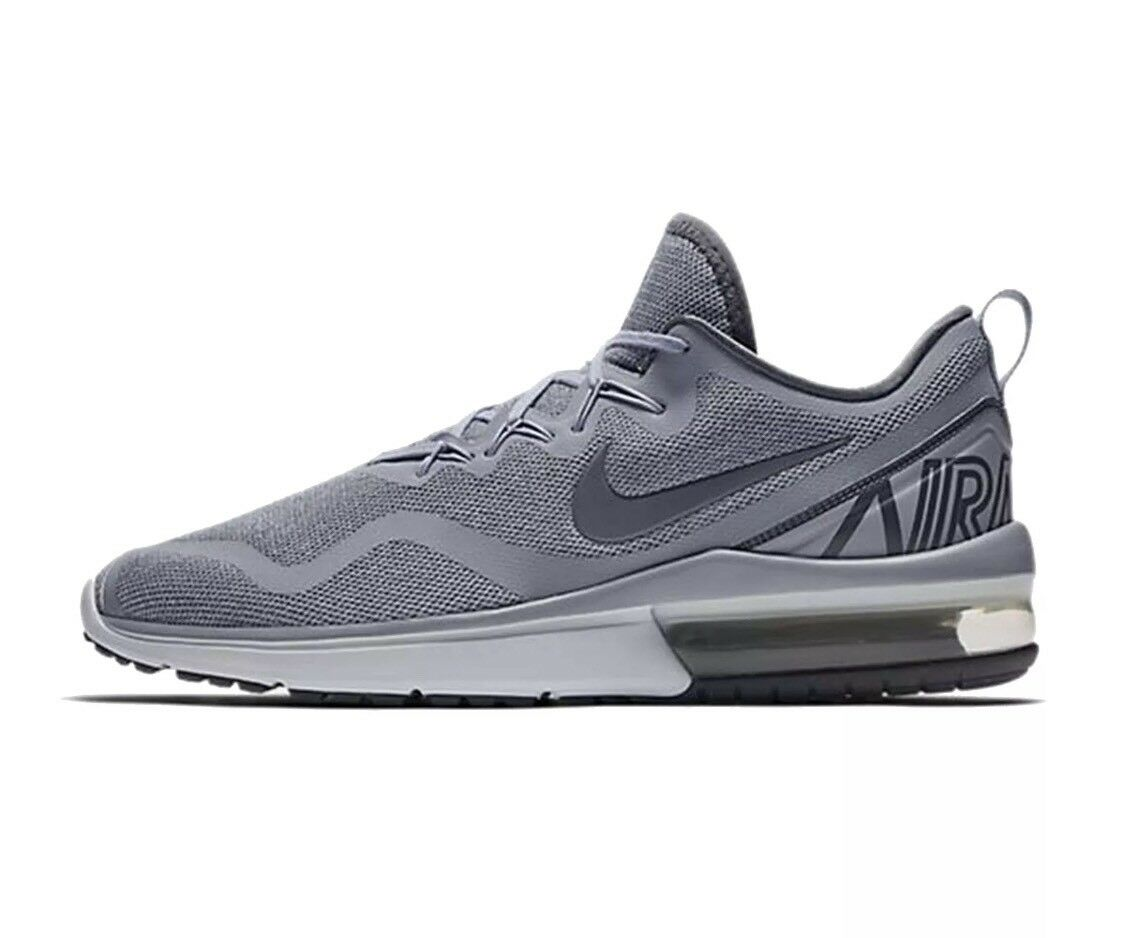 Men's Running Nike Air Max Fury Running Men's Shoes, AA5739 004 Sizes 9,5 Dark Gray/Stealth a320c4
