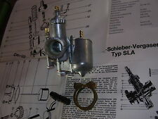 Vergaser Henneparts SACHS Hercules DKW KTM Rixe ähnl Bing 1/19/130 & 1/19/31 NEU