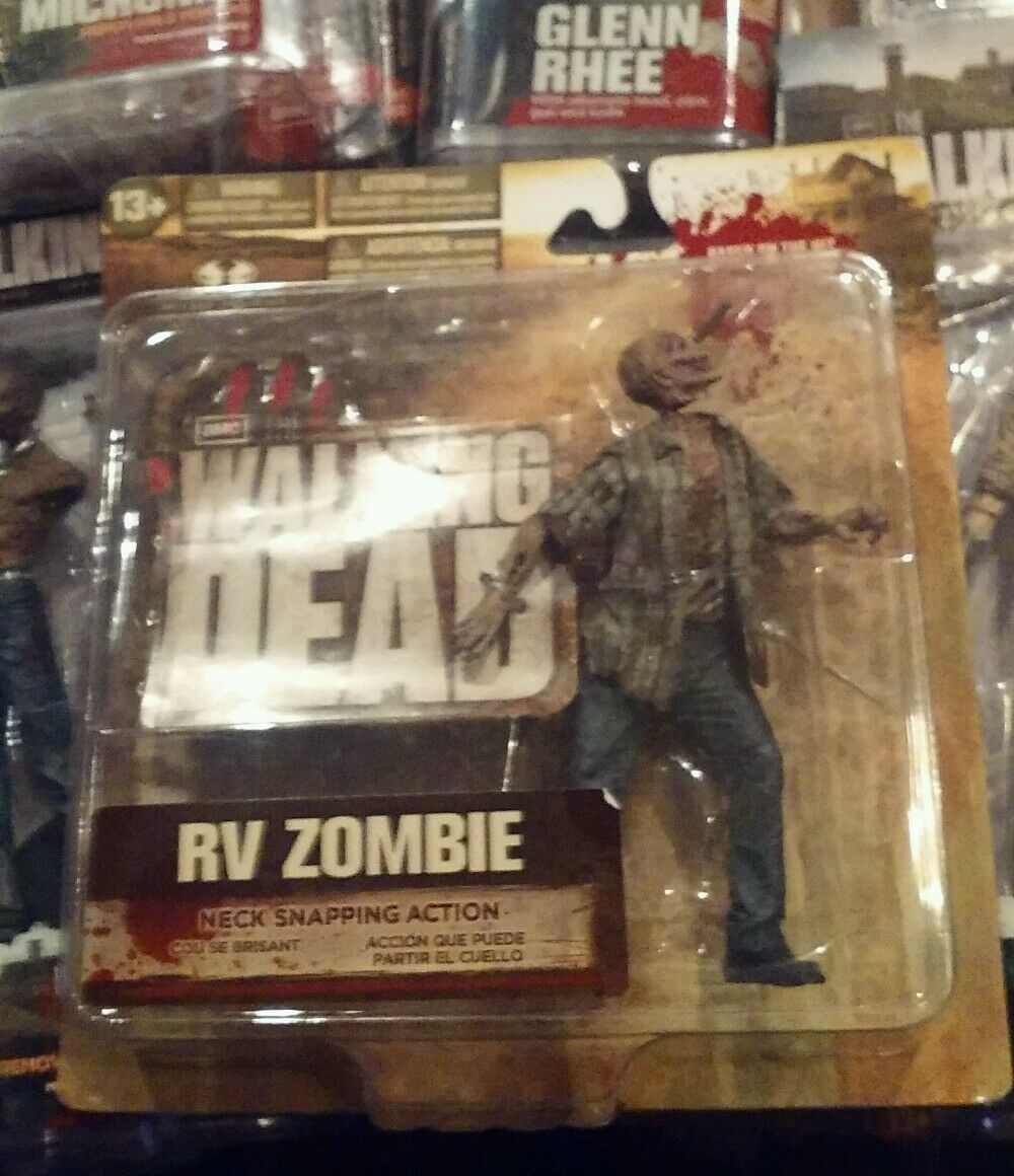 Walking Dead TV Series 2 Action Figure Large Card RV Zombie