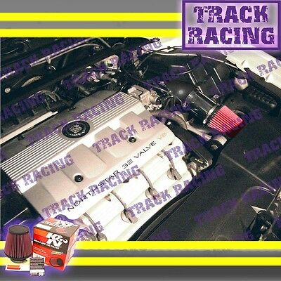 CF BLACK RED 96-97 1996 1997 CADILLAC SEVILLE STS//SLS 4.6 4.6L V8 AIR INTAKE KIT