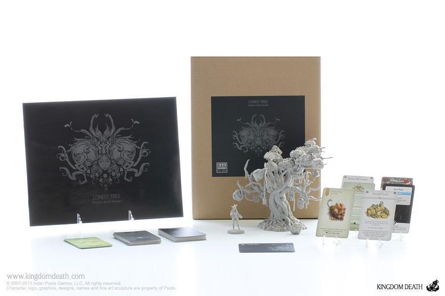 Kingdom Death  Erweiterung Lonely Tree Brettspiel Tischplatte -satz Tablett