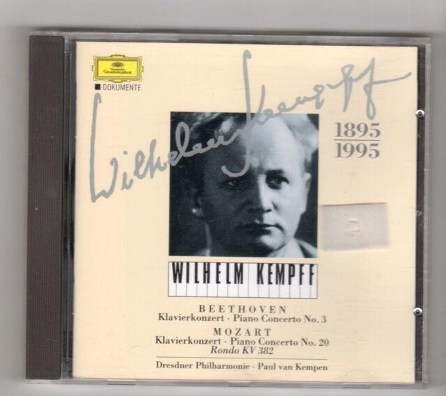 (IL389) Wilhelm Kempff, Klavierkonzert Nr 3: Beethoven - CD