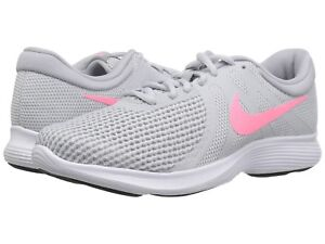 info for 52dc3 7ca4f Image is loading Womens-Nike-Sneakers-Platinum-Grey-Pink-Revolution-NEW-
