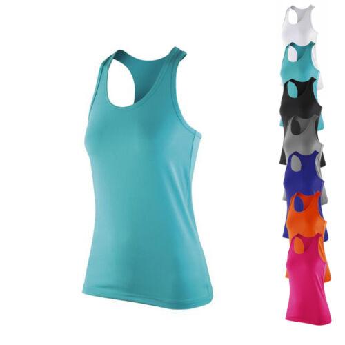 Result Spiro Damen Womens Impact Softex® Top Tank Shirt Laufshirt XXS-XXL Neu