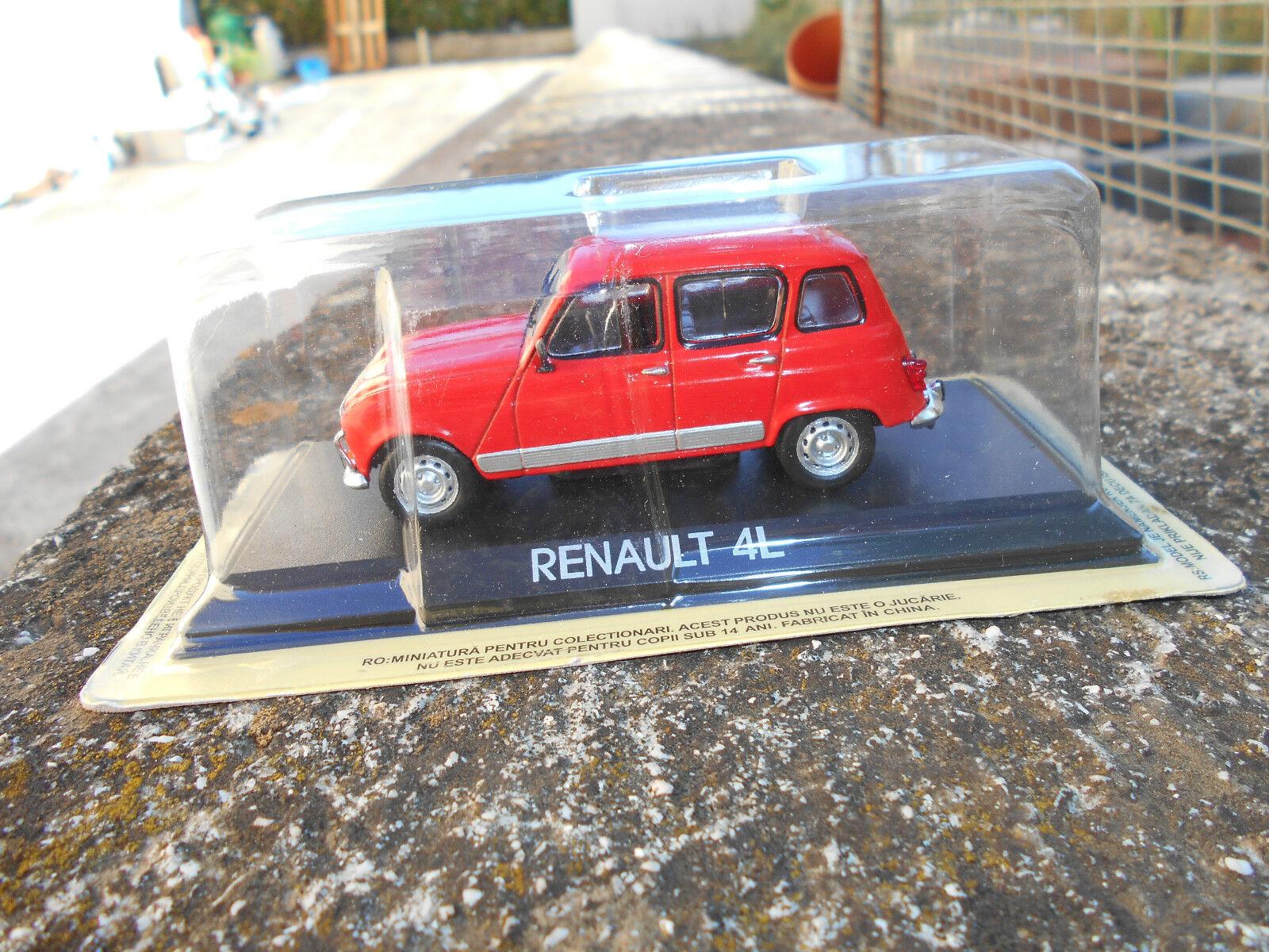 RENAULT 4L -  SCALA 1\43