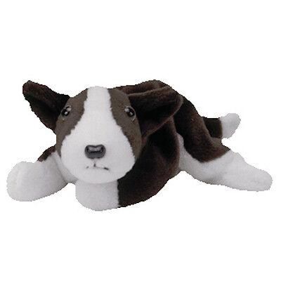 TY BRUNO Beanie Baby Terrier Dog MWMT 5th Gen Retired
