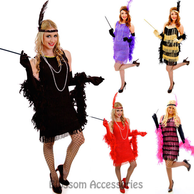 Fashion Flapper Deluxe Charleston Cutie 20/'s Adult Costume